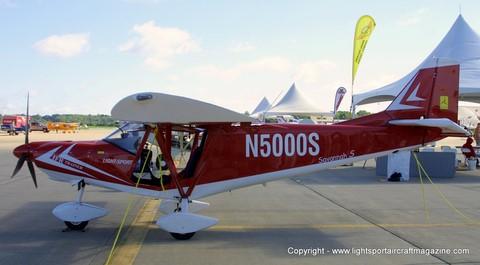 Savannah light sport aircraft